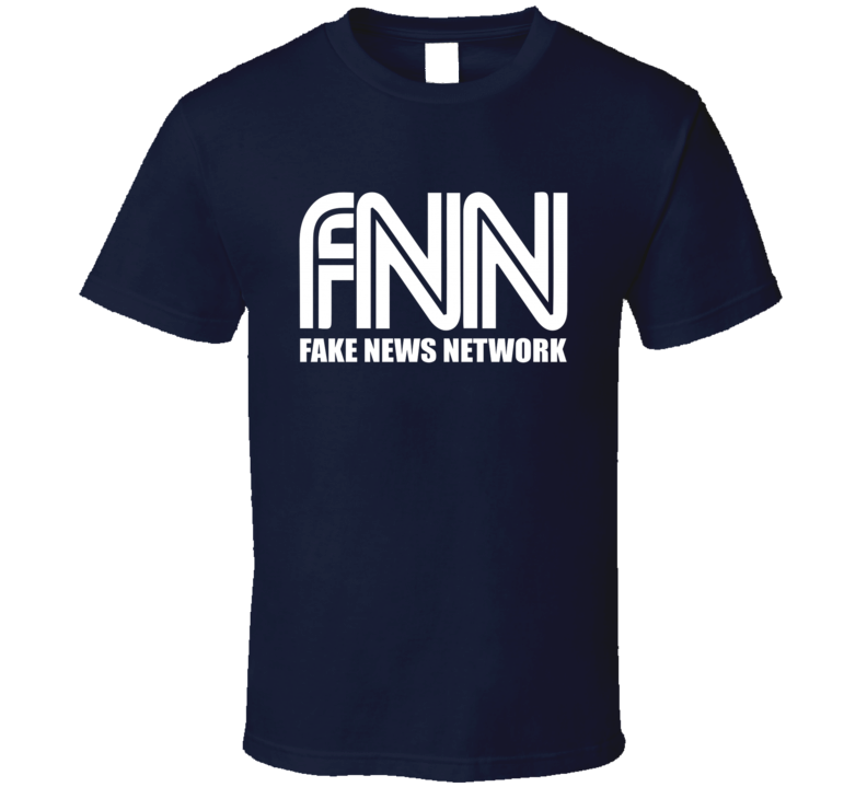 Fake News Network Funny Trump Parody Graphic Tv Show T Shirt