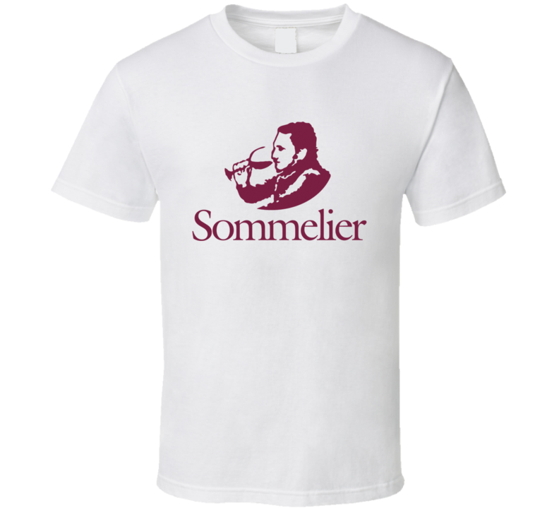 Sommelier Fun Wine Tasting Grape History Graphic Food Lover T Shirt