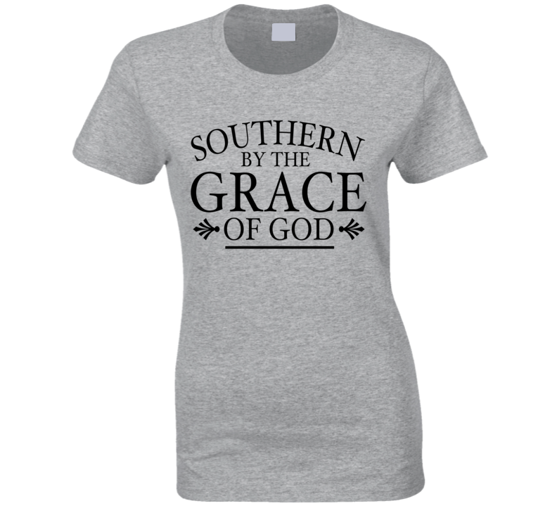 Southern By The Grace Of God Popular Tee Shirt