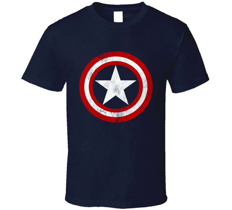 Vintage Captain America Graphic Tee Shirt
