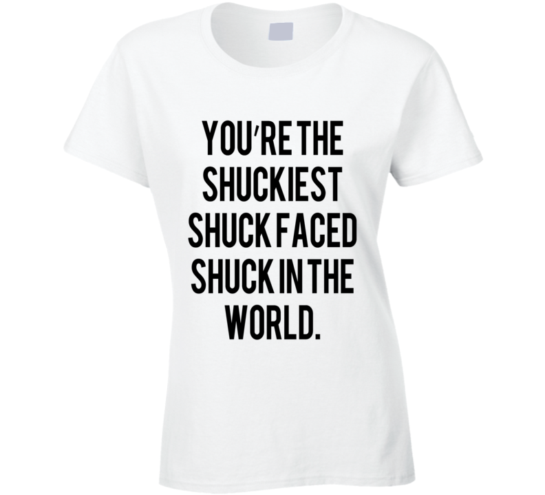 Maze Runner Shuckiest Shuck Faced Fun Tee Shirt