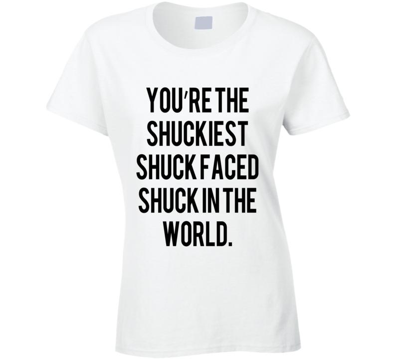 Maze Runner Shuckiest Shuck Faced Fun Tee Shirt