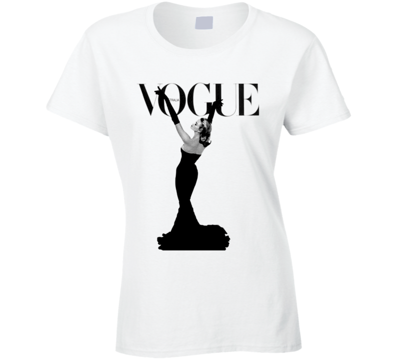 Vintage Vogue Italia Magazine Cover Graphic Tee Shirt