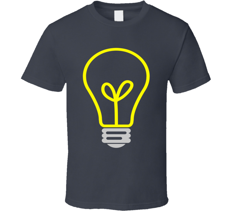 Lightbulb Essential Electricity Fun Tee Shirt