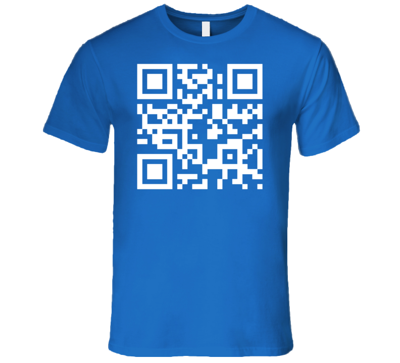 UPC Barcode Technology Information Geek Tee Shirt