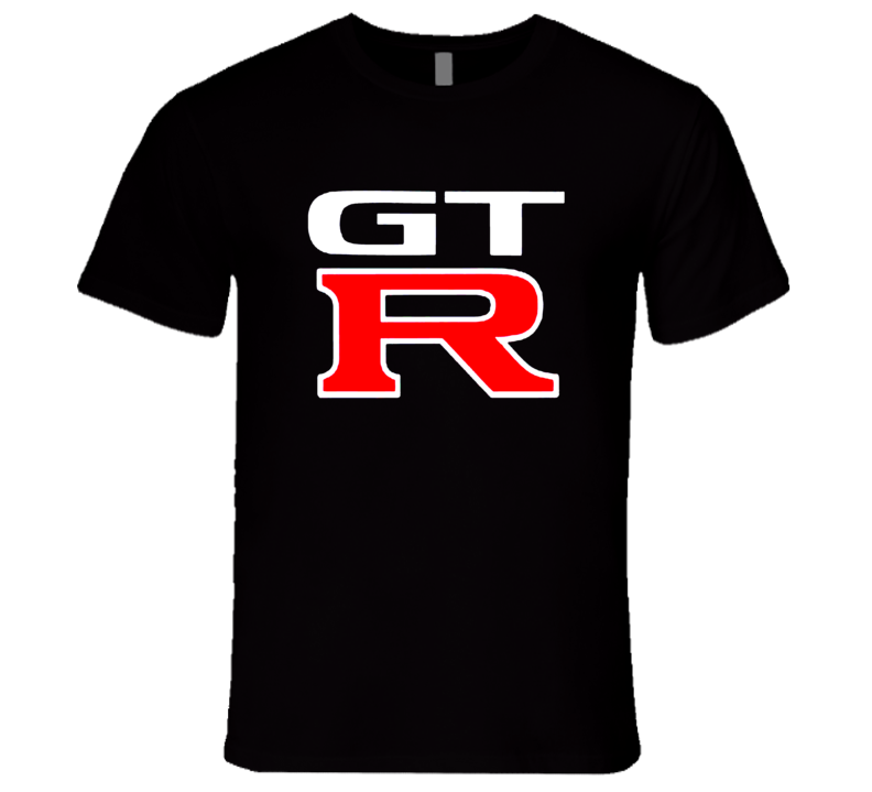 Nissan GT R Fast Car Graphic Tee Shirt