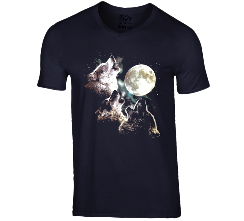 Three Wolf Moon Always Sunny In Philadelphia Graphic Wolves Tee Shirt