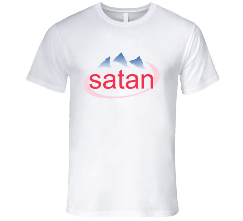 Satan Funny Water Parody T Shirt