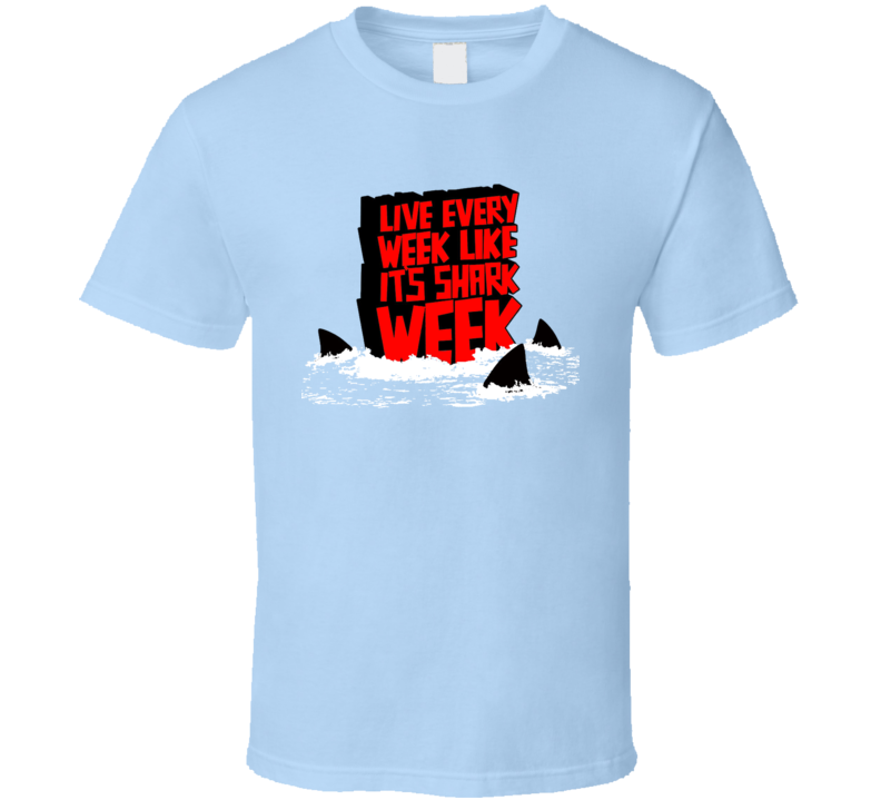 New For The Love Of Shark Week! T-shirt OK34