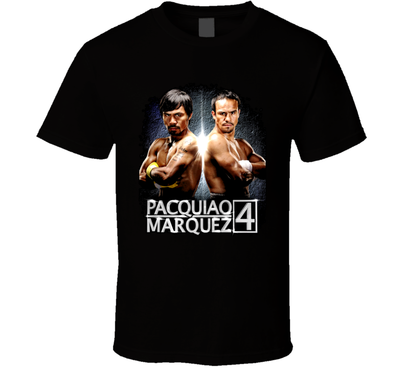 Manny Pacquiao Marquez 4 Boxing Champion Philippines Mexico T Shirt