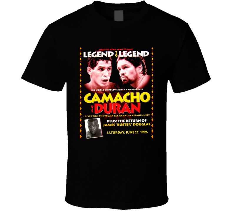 Hector Macho Camacho Roberto Duran Boxing Boxer T Shirt