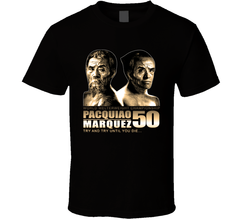 Manny Pacquio Juan Manual Marquez Boxing Funny 50 Mexico Filipino T Shirt