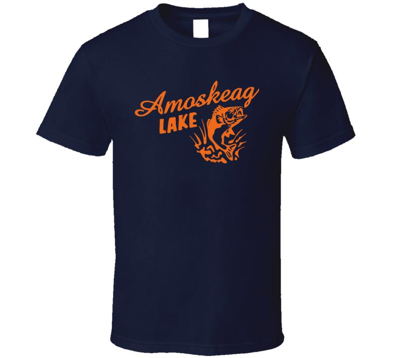 Amoskeag Lake Grown Ups Sandler Rock Kevin James Hayek T Shirt