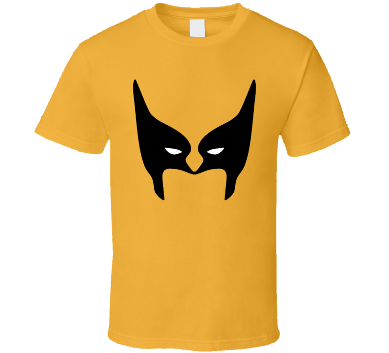 Wolverine Weapon X Halloween Costume Face Comic T Shirt