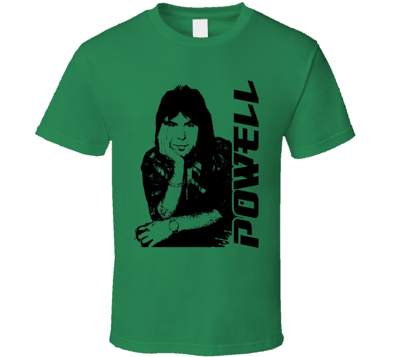 89a0aef6490 Cozy Powell Rock Drummer Music T Shirt