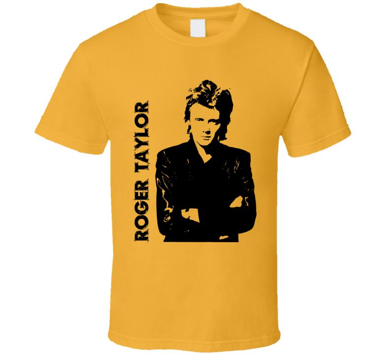 Roger Taylor Rock Drummer Music T Shirt