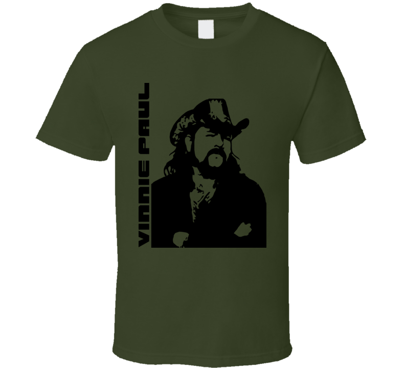 Vinnie Paul Rock Drummer Music T Shirt