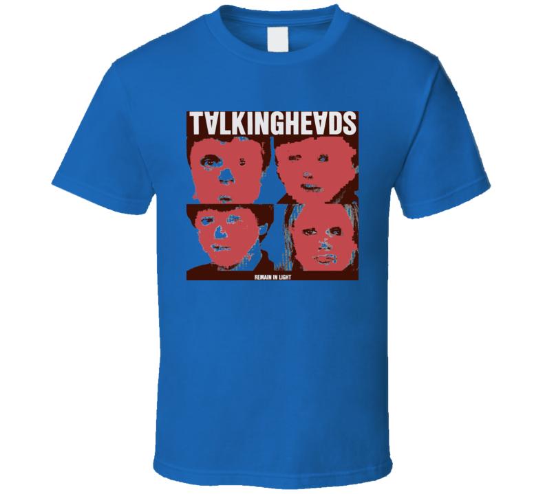 Talking Heads Remain In Light Music T Shirt