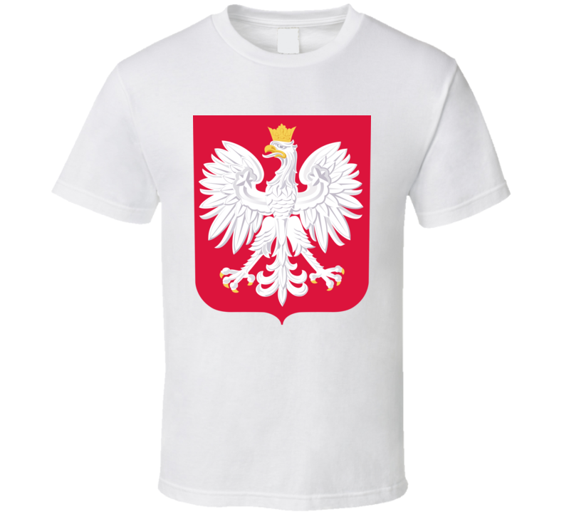 Poland Polish Coat Of Arms T Shirt