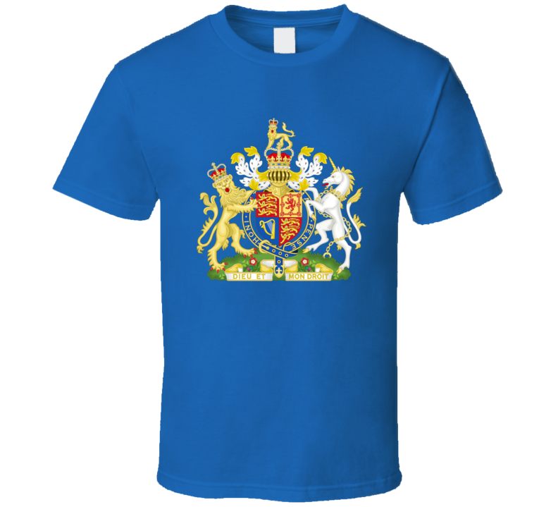 United Kingdom,england,wales And Northern Ireland Coat Of Arms T Shirt