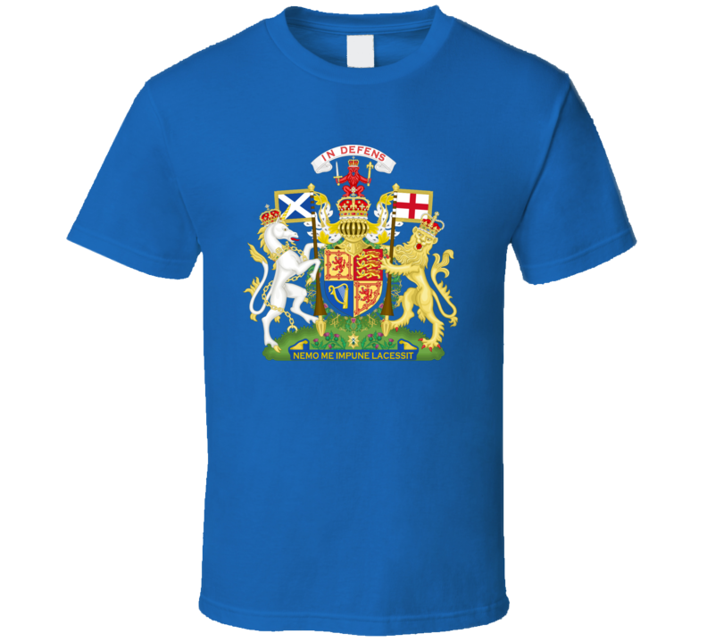 United Kingdom,scotland Scottish Coat Of Arms T Shirt