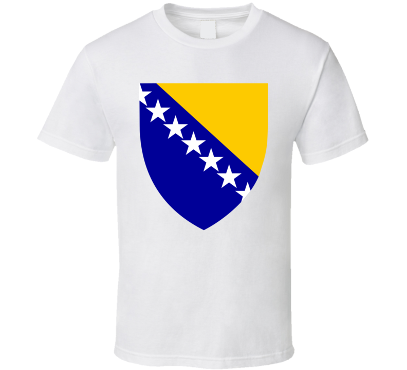 Bosnia And Herzegovina Coat Of Arms T Shirt
