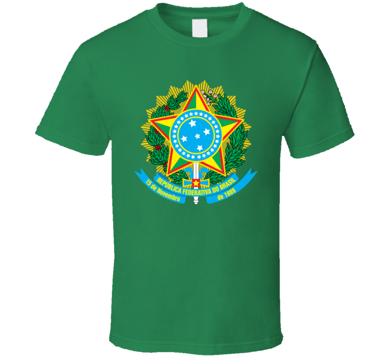 Brazil Coat Of Arms T Shirt