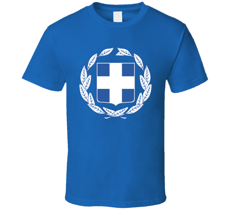 Greek Greece Coat Of Arms T Shirt