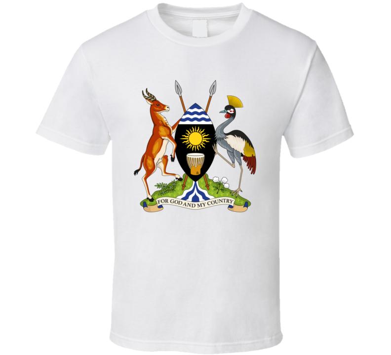 Uganda Coat Of Arm T Shirt
