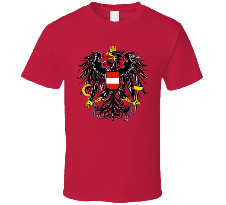 Austria Coat Of Arms T Shirt