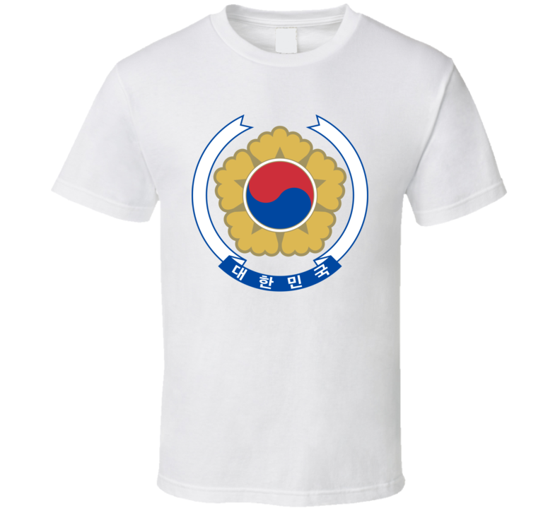 South Korea Emblem T Shirt