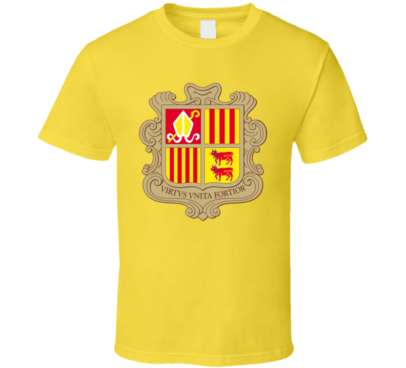 Andorra Coat Of Arms T Shirt