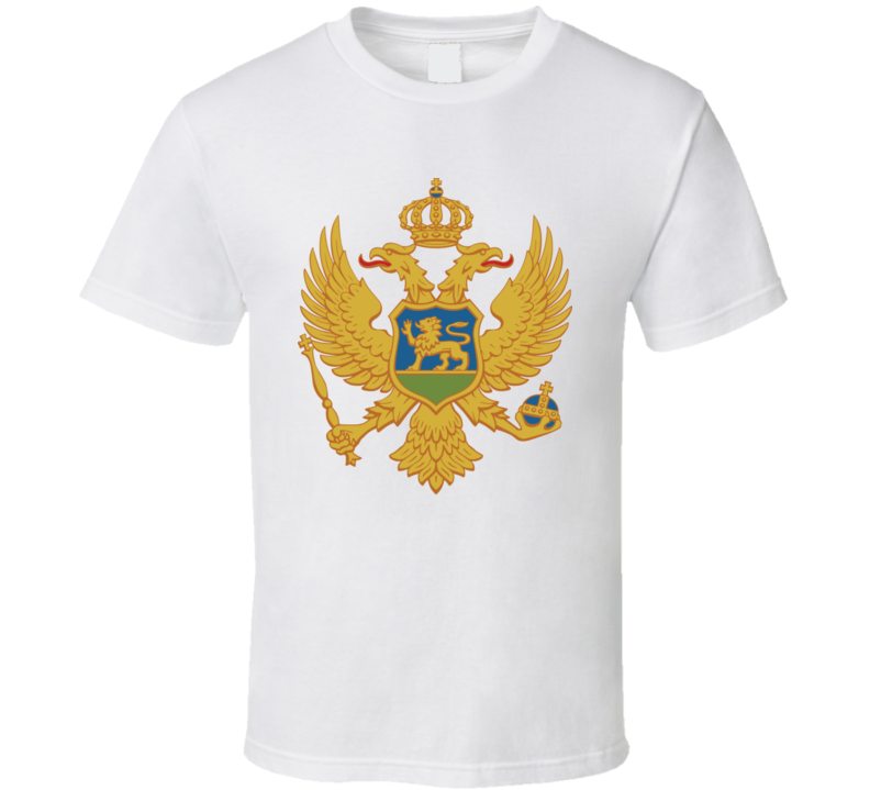 Montenegro Coat Of Arms T Shirt
