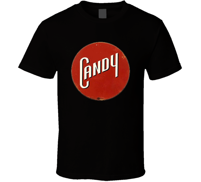 Candy Sign Old Style Vintage Candy Bars Fan T Shirt
