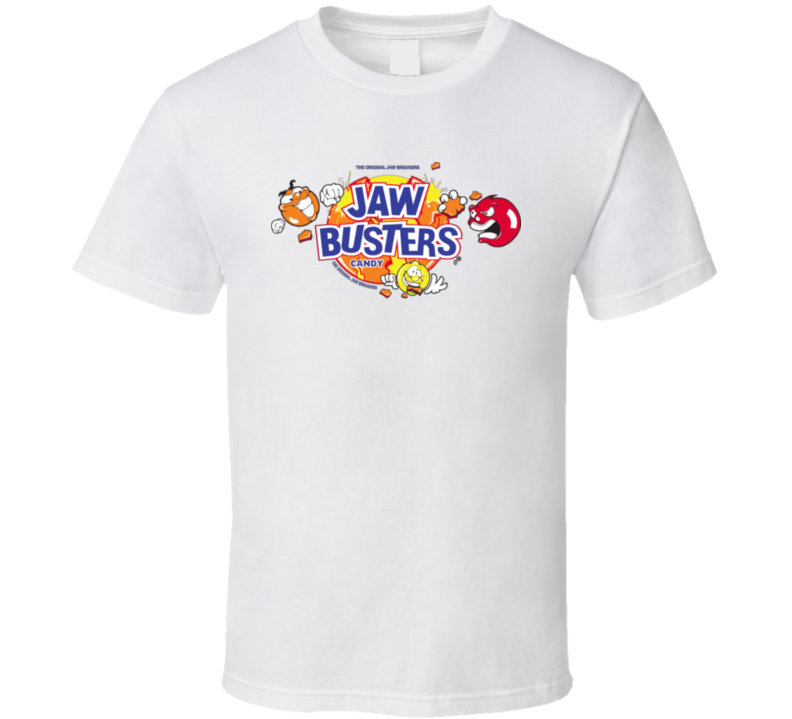 Jaw Busters Candy Retro Vintage Candy Bars Fan T Shirt