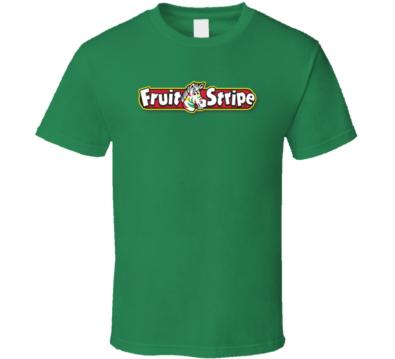 Fruit Stripe Retro Vintage 1960s Candy Bars Fan T Shirts T Shirt