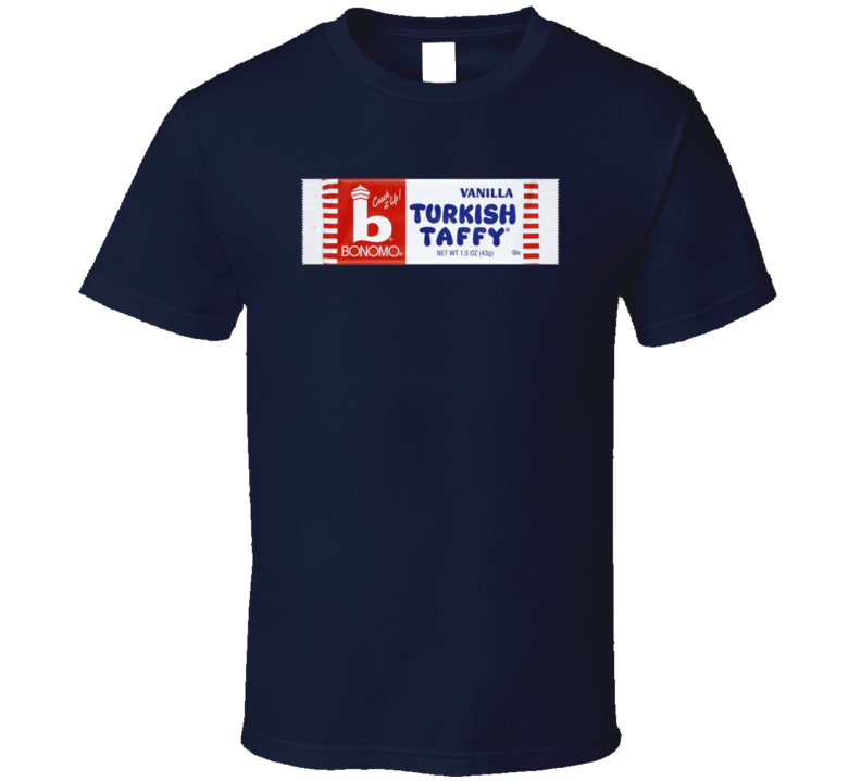 Bonomo Turkish Taffy Retro Vintage Candy Bar Fan T Shirt
