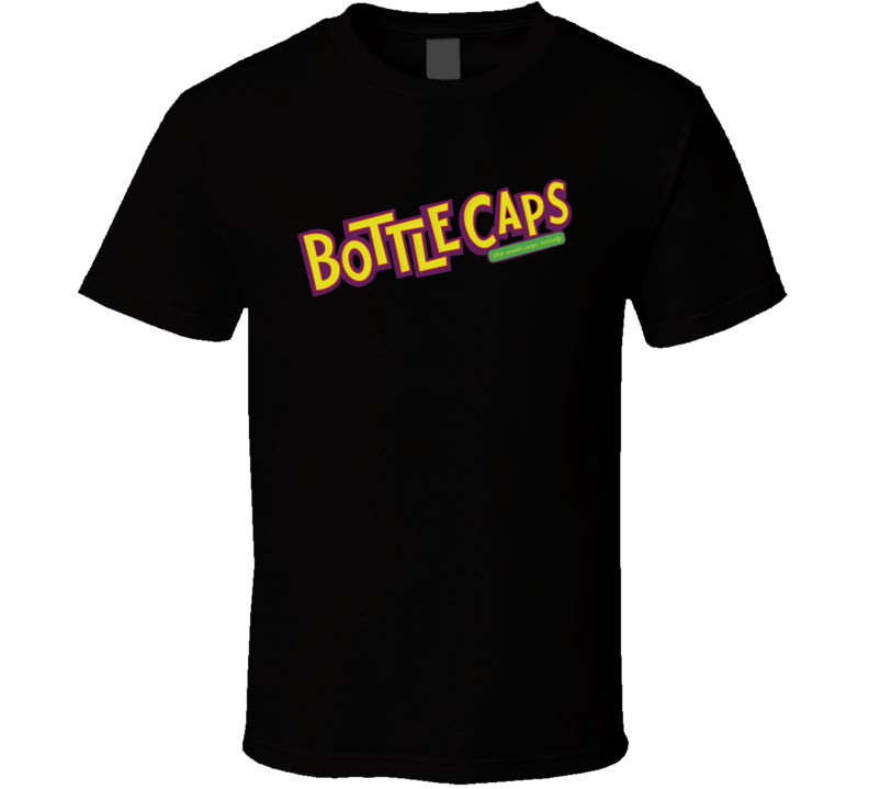 Bottle Caps The Soda Pop Candy Retro Vintage Candy Bar Fan T Shirt