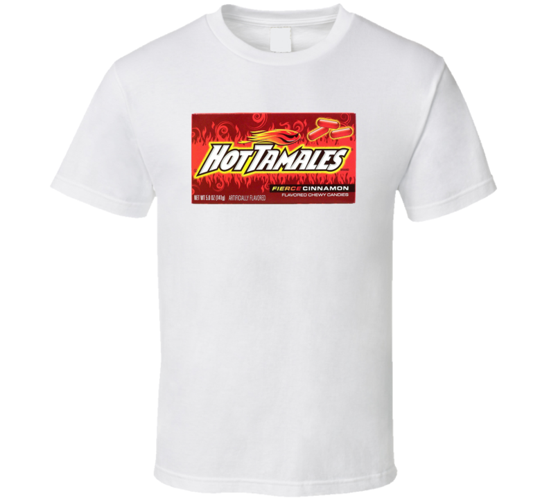 Hot Tamales Novelty Candy Fan T Shirt
