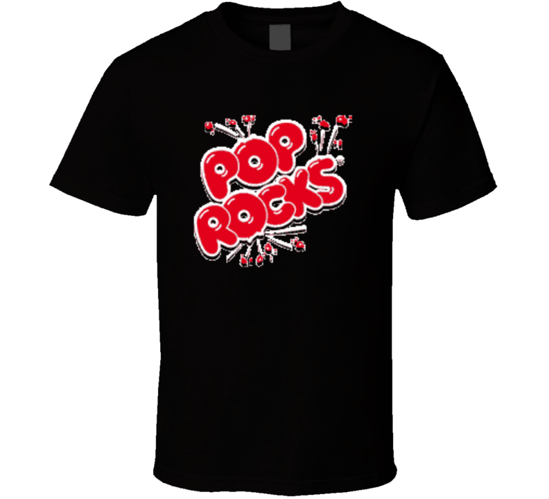 Pop Rocks Candy Novelty Retro Fan T Shirt