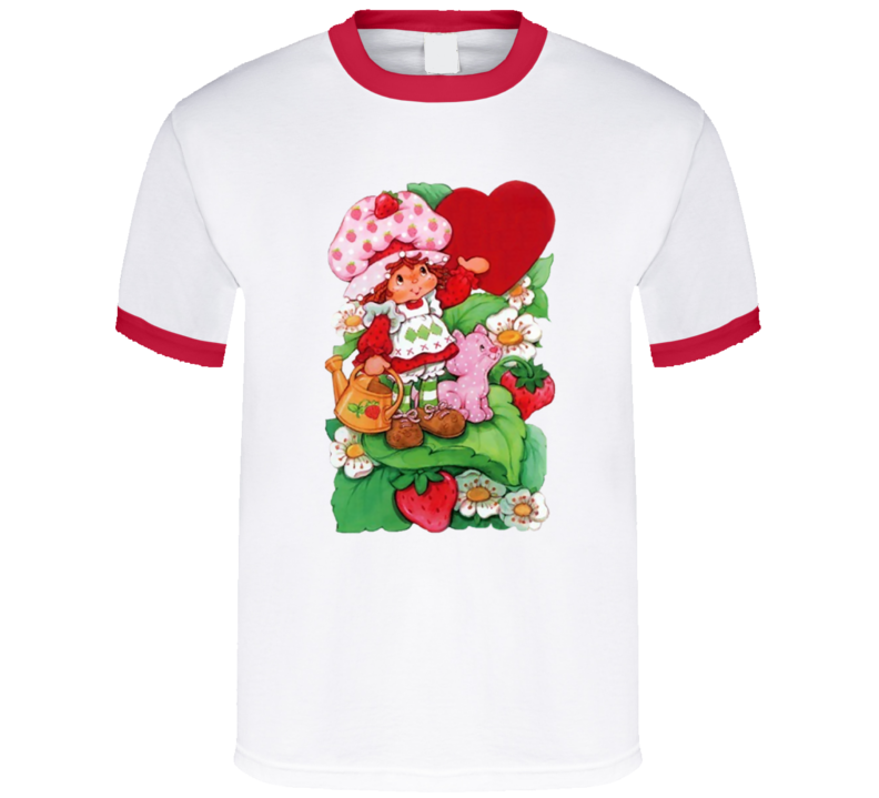 Strawberry Shortcake Retro Cartoon Fan T Shirt
