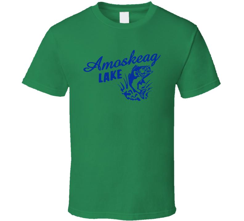 Amoskeag Lake Grown Ups Sandler Rock Kevin James Hayak T Shirt