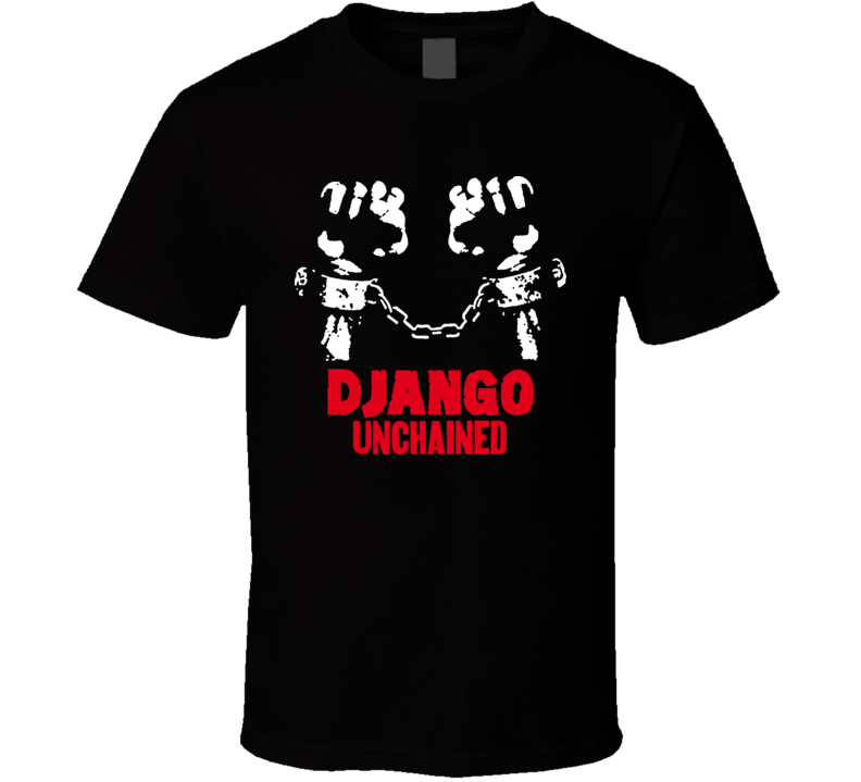 Western Movie Djangounchained Leonardo Dicaprio Foxx Jackson T Shirt