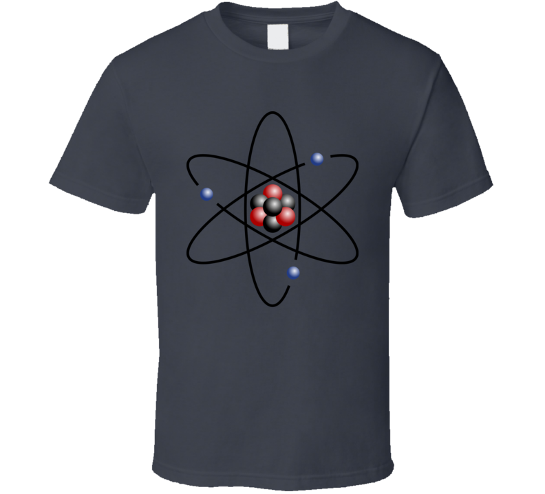 Atoms Atomic Mass Science Geek Fun Fan T Shirt