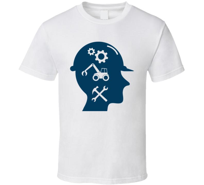 Engineering Mind Science Geek Fan T Shirt