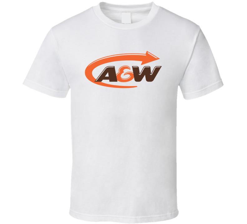 A & W Fast Food Restaurant T Shirt