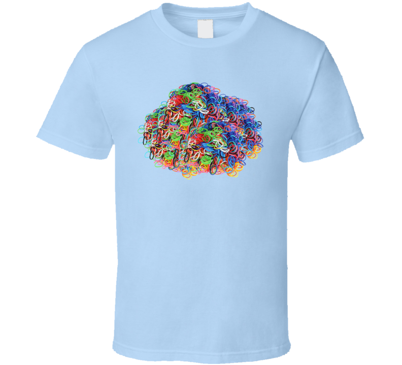 Loom Bands Bracelet Making Fun Fan T Shirt