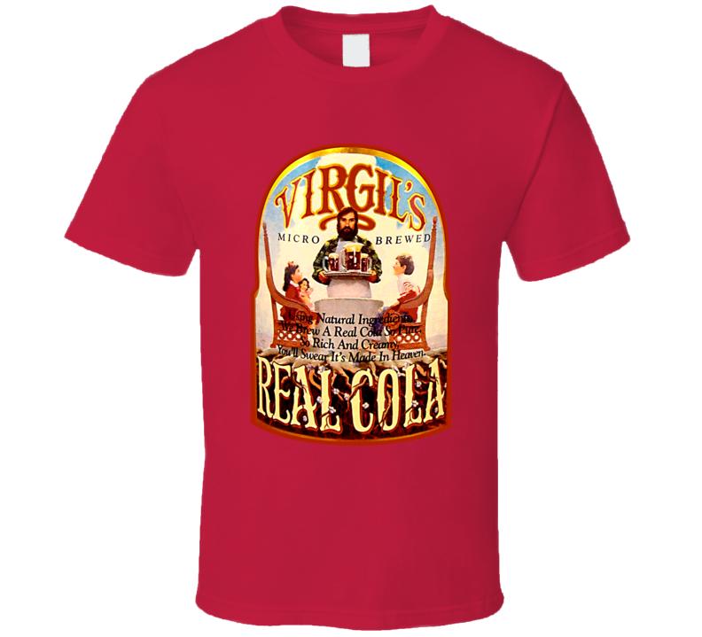 Virgil Real Cola Virgils Soda Pop Drink T Shirt
