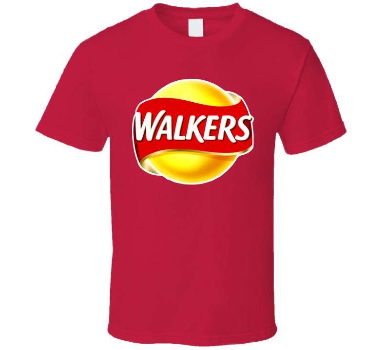 Walker Crisps Potato Chips United Kingdom T Shirt