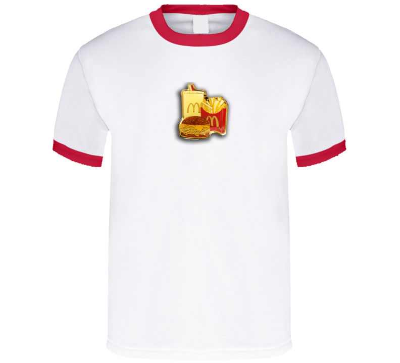 Mcdonalds Vintage Food Fan T Shirt